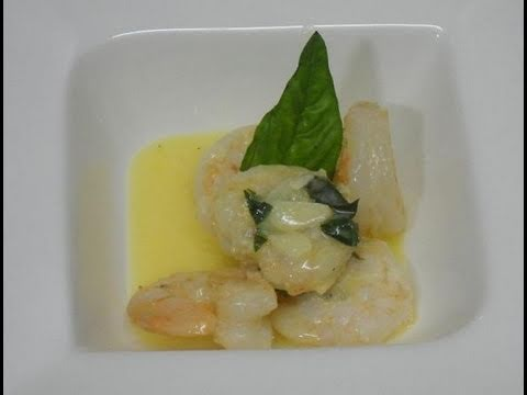 Garlic Saute Shrimp with Butter Sauce