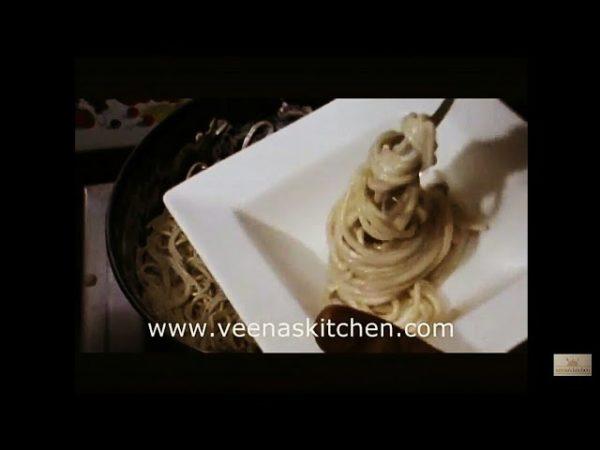 Spaghetti Mushroom Cream Sauce