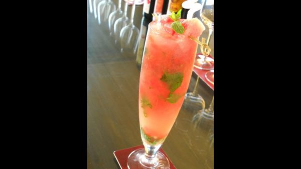 Mocktail - watermelon & mint