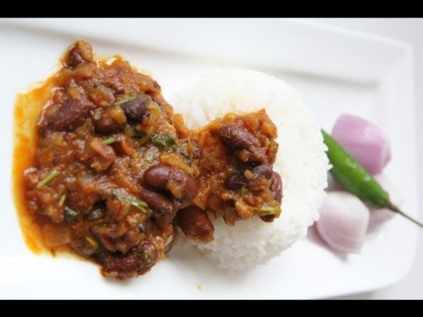 Rajma - Kidney beans curry www.veenaskitchen.com