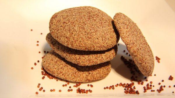 Finger millet and honey cookies (Ragi cookies)