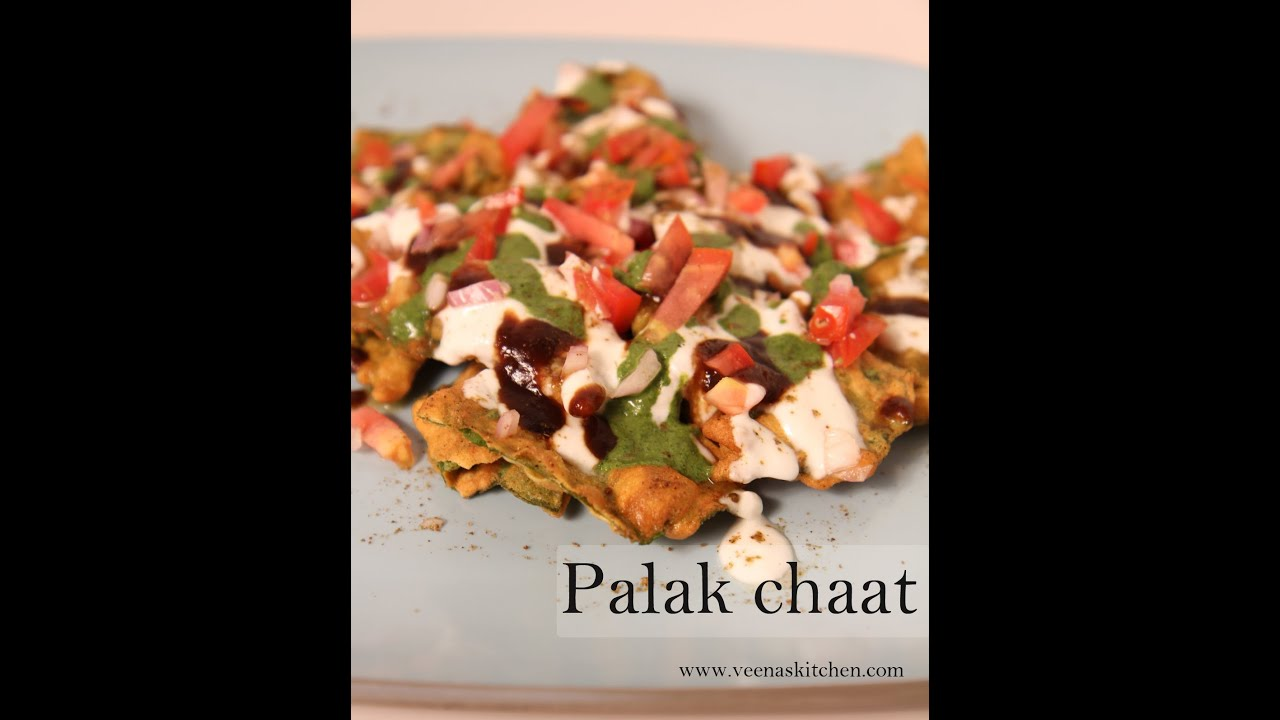 Palak Chaat (spinach delight)