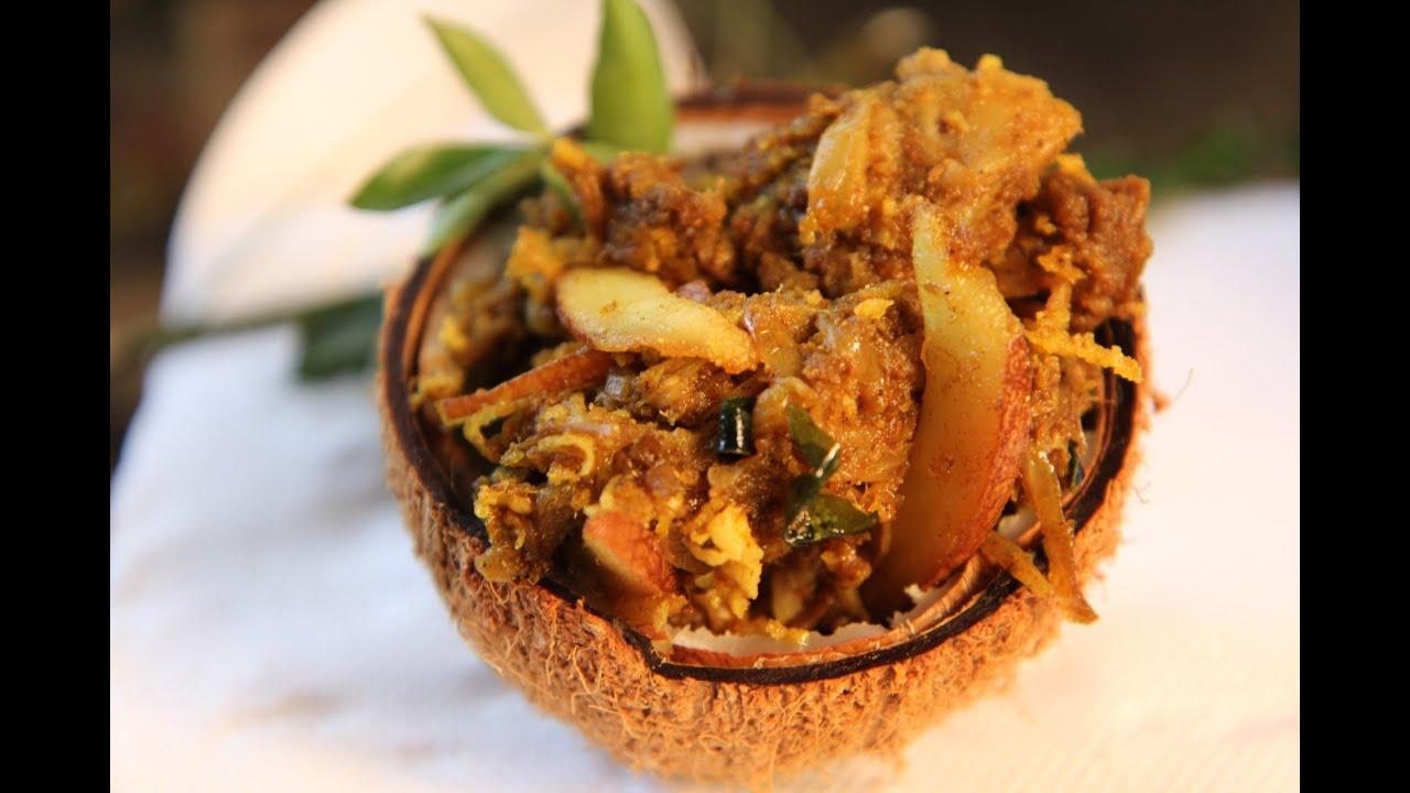 Kerala style Mutton Coconut Fry