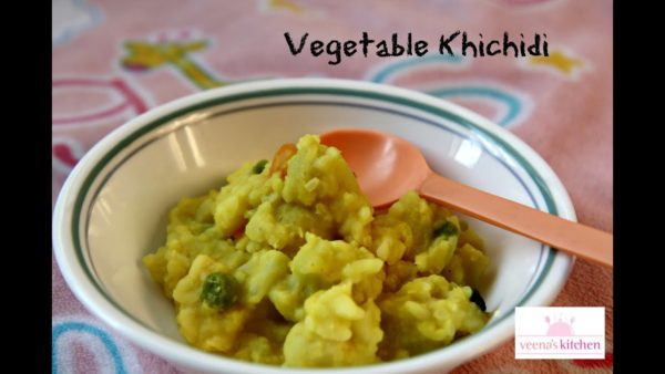 khichdi - kids recipe