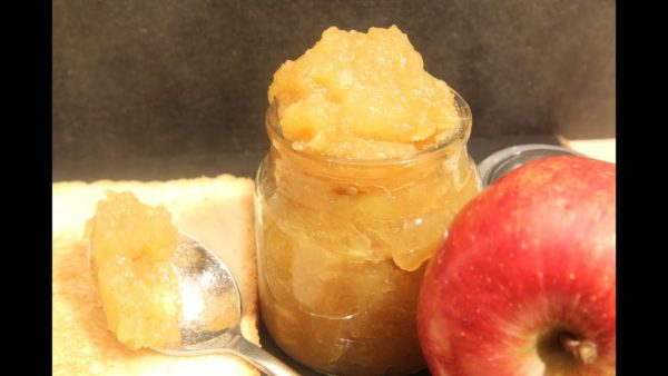 apple cinnamon jam microwave