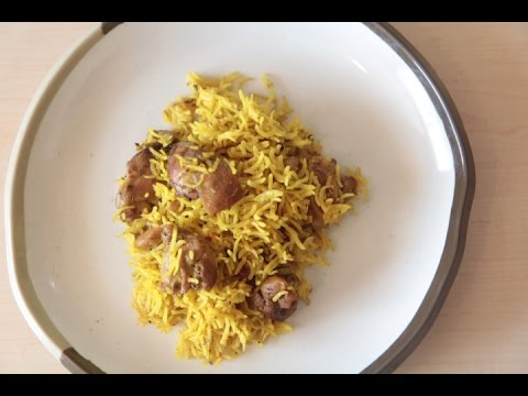 chicken biriyani microwave