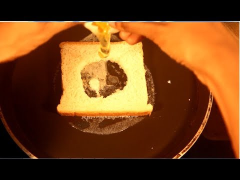 Anda bread - egg in bread