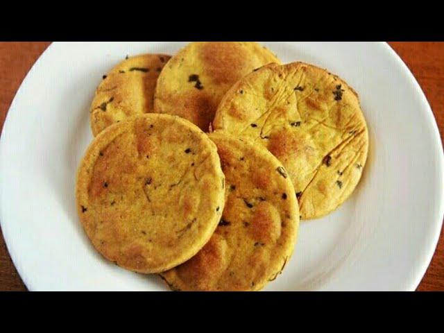 methi mathri baked